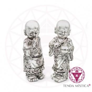 Conj. 2 Monges cromados