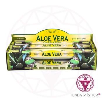 Incenso Tulasi - Aloe Vera - Caixa