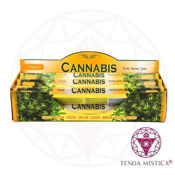 Incenso Tulasi - Cannabis - Caixa