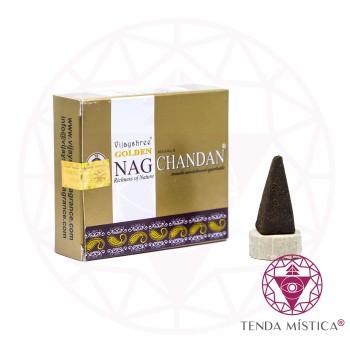 Incenso Cone - Gold Nag Chandan