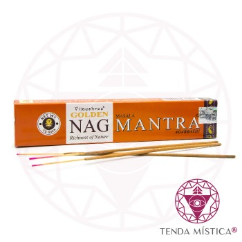 Incenso Golden Nag Champa Mantra