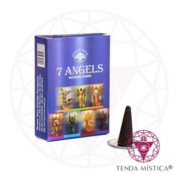 Incenso Cone - 7 Anjos