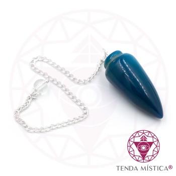 Pêndulo Lágrima - Ágata Azul