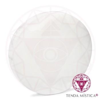 Selenite Formas - Circulo 14cm