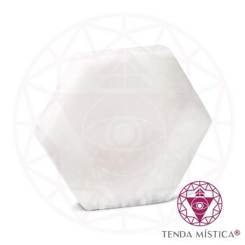 Selenite Formas - Hexágono 10cm