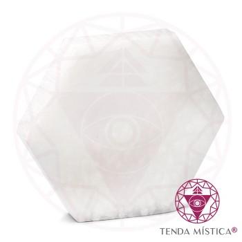 Selenite Formas - Hexágono 14cm