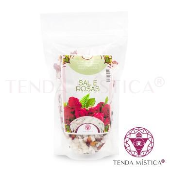 Banho Sal e Ervas - Rosas
