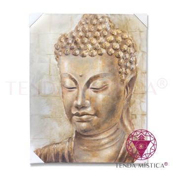 Tela 100X90 - Buddha Dourado A