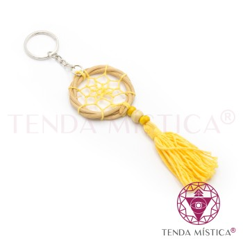 Porta-Chaves Caça Sonhos - Amarelo