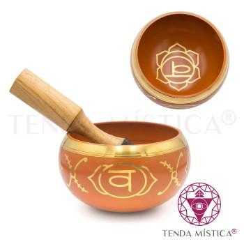 Taça Tibetana - Chakra Svadhishana