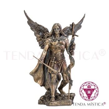 Arcanjo Gabriel - Resina Bronze