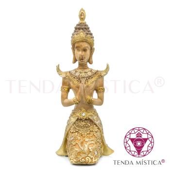 Buddha Namastê - Dourado