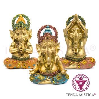 Conj. 3 Ganesha - Meditação