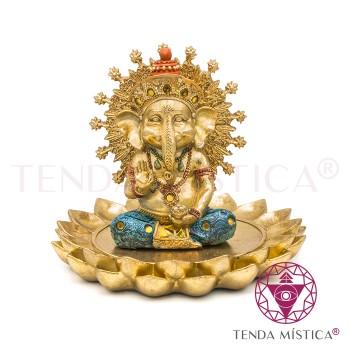 Ganesha - Flor de Lótus