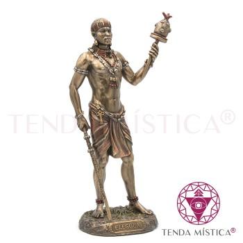 Elleguá - Resina Bronze