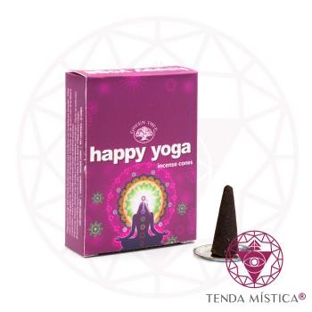 Incenso Cone - Happy Yoga