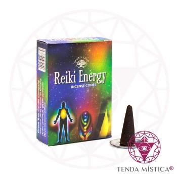 Incenso Cone - Reiki Energy