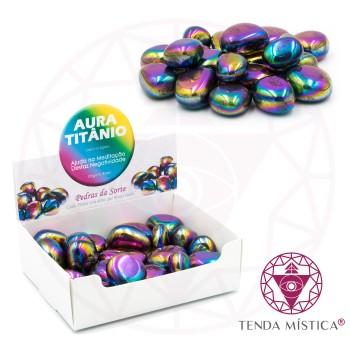 Caixa 250gr - Aura Titânio - Polida