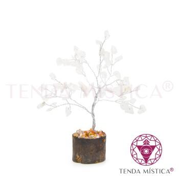 Árvore Pedras - Quartzo Cristal S