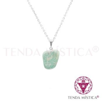 Colar - Pedra Amazonite