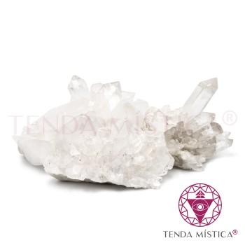 Drusa Quartzo Cristal médias P/Kg