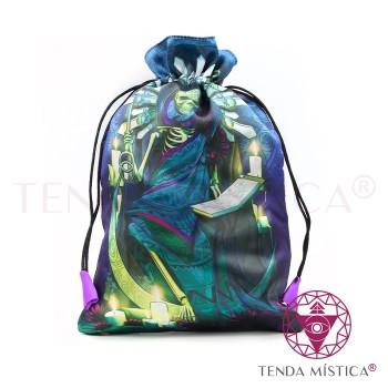 Bolsa Tarot/Runas - Santa Muerte