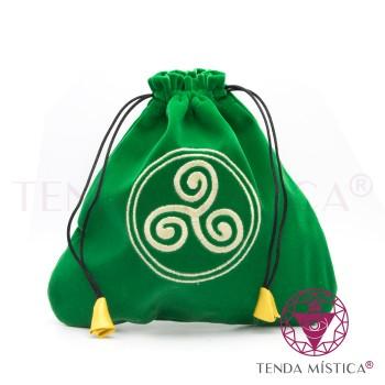 Bolsa Tarot/Runas - Celtic triskel