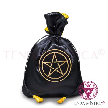 Bolsa Tarot/Runas - Pentagrama