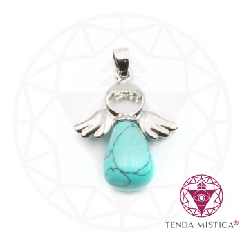 Pendente Anjo - Turquesa