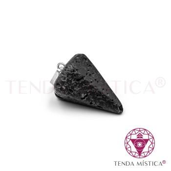 Pêndulo 2cm - Pedra Vulcânica