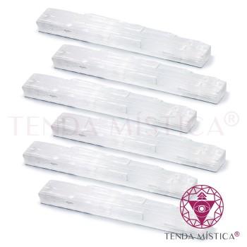 Selenite Sticks Bruto - 30cm - 6 Unid