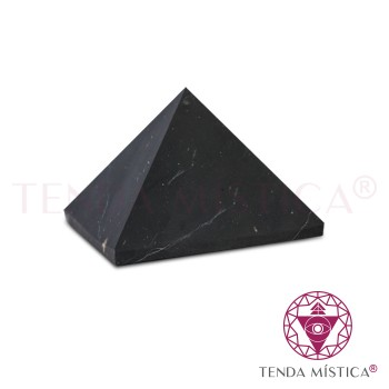 Pirâmide Shungite - Matte - 4X4