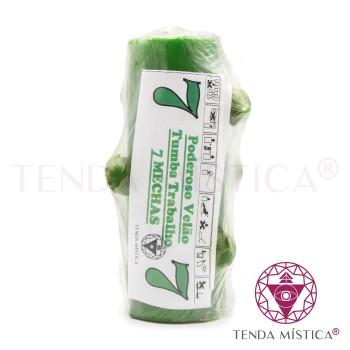 Velão 7 Mechas - Verde
