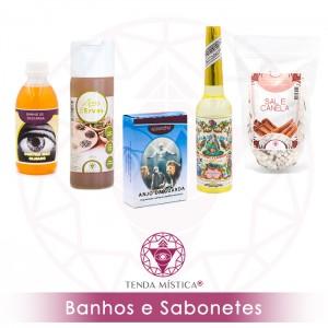 BANHOS & SABONETES