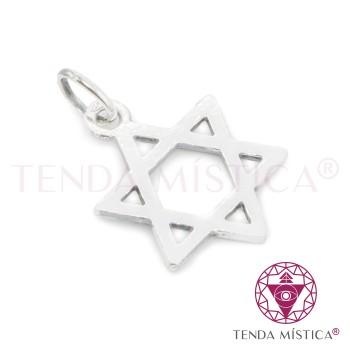 Proteção Prata - Estrela de Davi
