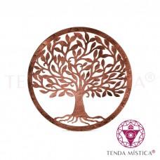 Árvore Metal Vintage Parede - Bronze