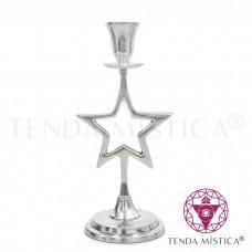 Candelabro Alumínio - Estrela
