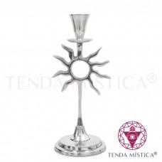 Candelabro Alumínio - Sol