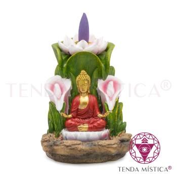 Fonte Fumo - Jardim Buddha