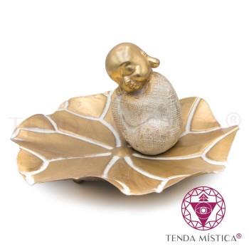 Prato - Buddha Dourado