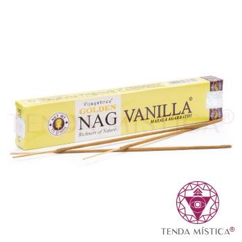 Incenso Golden Nag - Baunilha