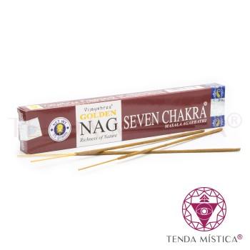 Incenso Golden Nag - 7 Chakras