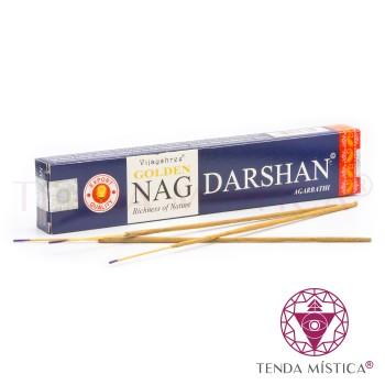Incenso Golden Nag - Darshan