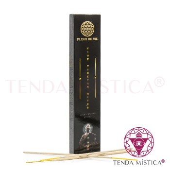 Incenso Fleur de Vie - 5 Ritos Tibetanos