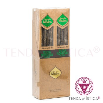 Incenso Sagrada Madre - Arruda & Alecrim - 6 Sticks