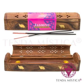 Incensário Estojo Tulasi + Inc. Jasmim