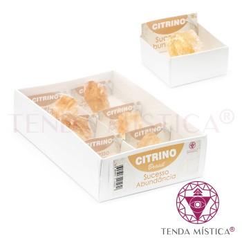Caixa 4X4 - Citrino Bruto - 6unid