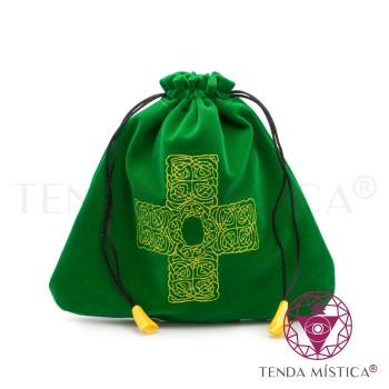Bolsa Tarot/Runas - Cruz Celta