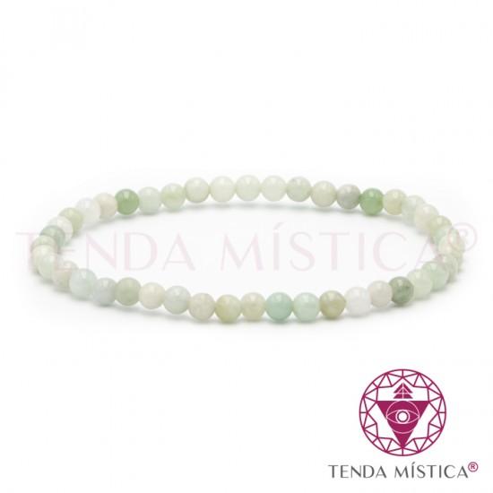 Pulseira Jade Natural - 4mm