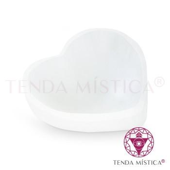 Selenite Taça - Coração